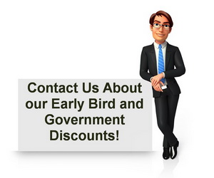 disc training and government discounts