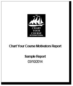 Chart Your Course Motivators Report